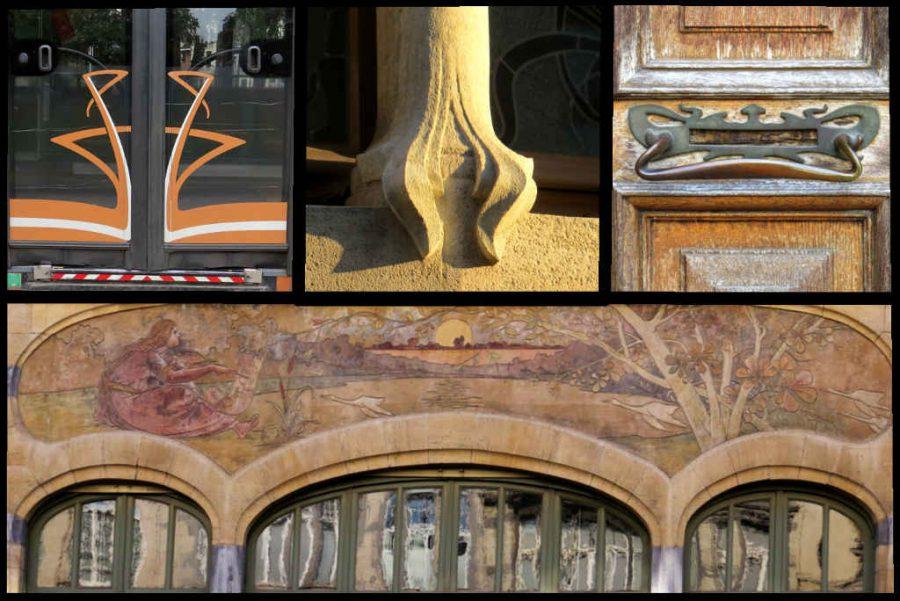Art nouveau details
