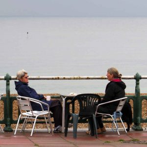 Brighton - Conversation on the Front