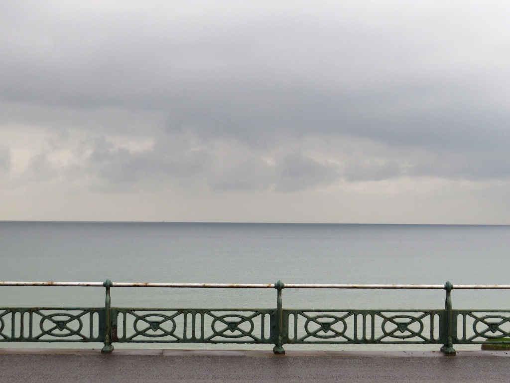 West Pier - The Channel's leaden line