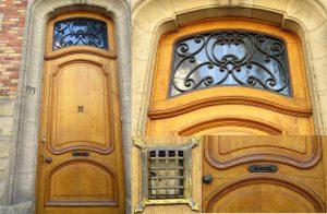 Details - Wooden door in Yxell