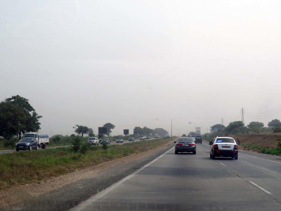 Ghana memories: On the Tema Accra Motorway