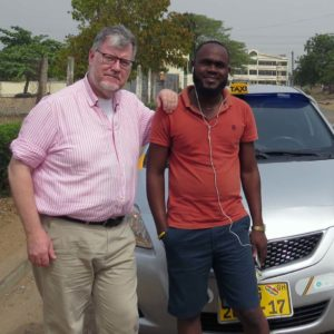 Ghana memories: John and Richmond in Tema