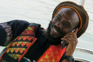 Ghana memories: Julius on Lake Volta