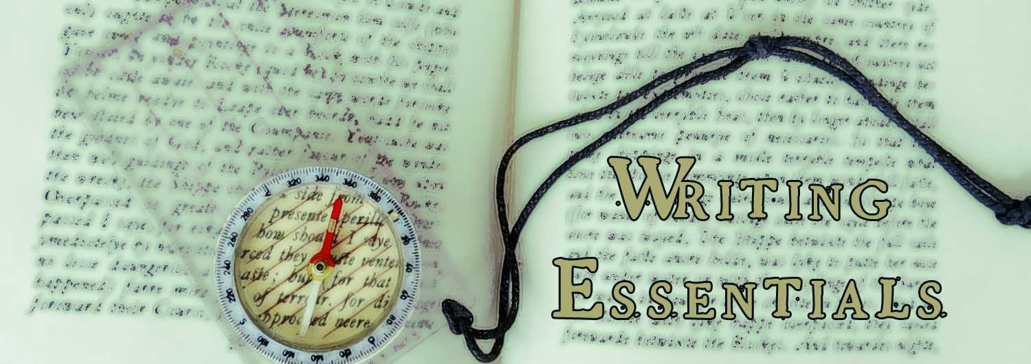 Writing essentials header