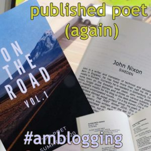 Published poet (again)