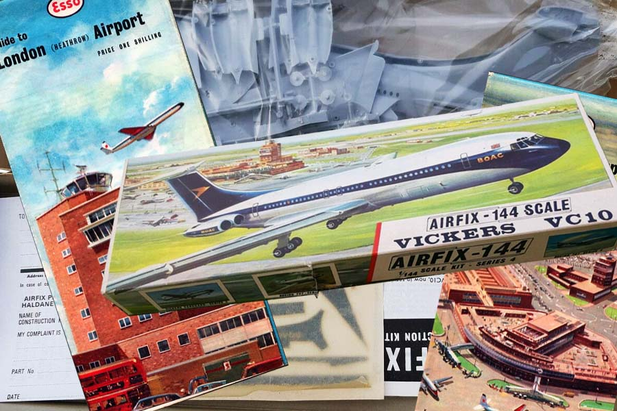 Flying to Accra: A Vickers VC10 model aircraft kit