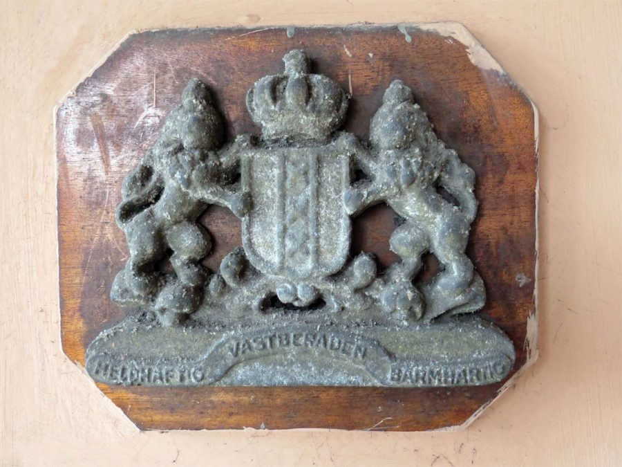 The coat of arms of Amsterdam, if I'm not mistaken