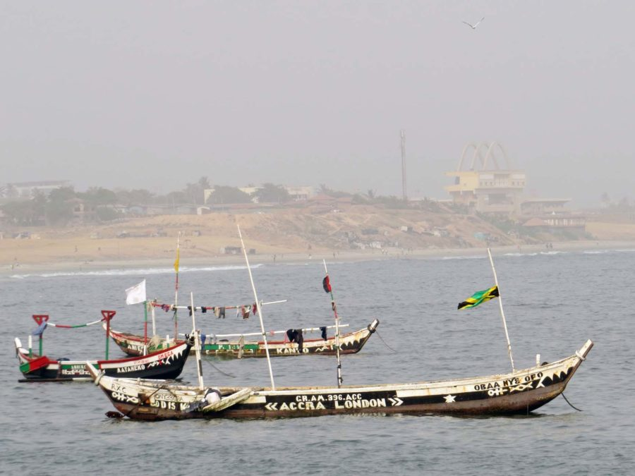 Fishing boats - Accra-London