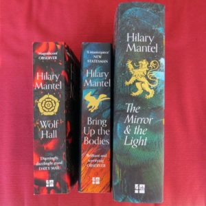 Mantel's Trilogy, my copies