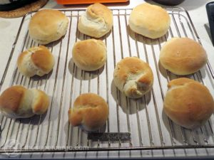 Fat Tuesday buns - baked