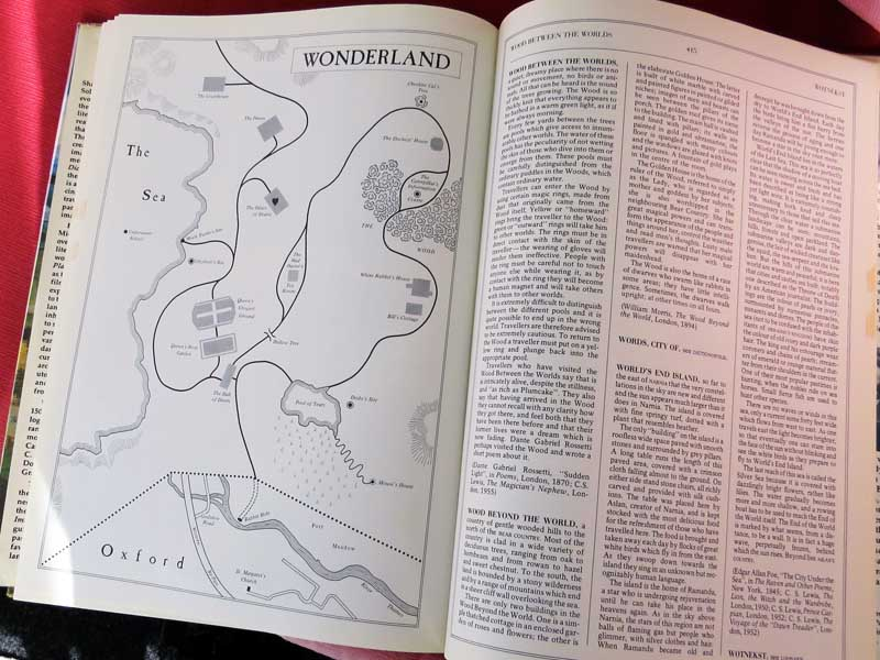 Wonderland in the Dictionary of Imaginary Places