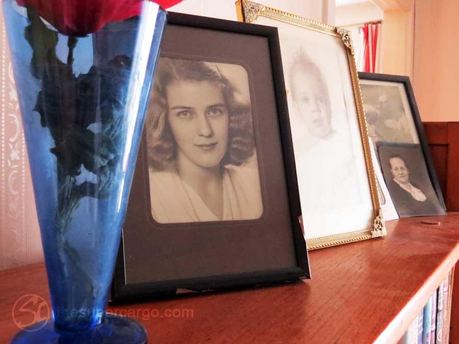 Ulla's photo shelf May 2020