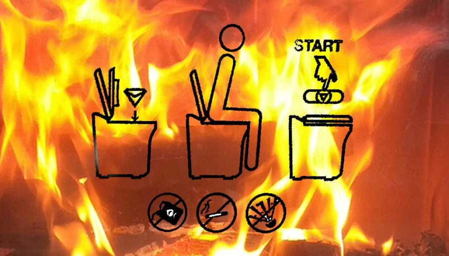 Fire: Cinderella furnace toilet directions