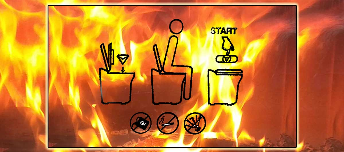 Fire in the bowl header