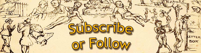 Subscribe or Follow header